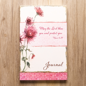 Softcover Journal – May The Lord Bless You Numbers 6:24