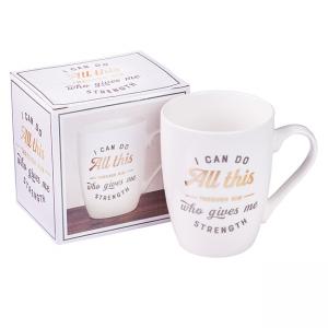 Mug- Ceramic I Can do All Things through Christ
