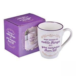 Mug- Ceramic Many Women do Noble Things Proverbs 31:29