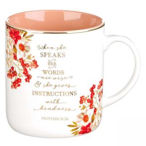Mug-When She speaks