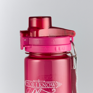 Plastic Waterbottle- For I know the Plans I have for You (Pink)