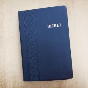 Bijbel Vinyl Blauw NBG-1951
