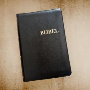 Bijbel Kunstleer Zwart NBG-1951
