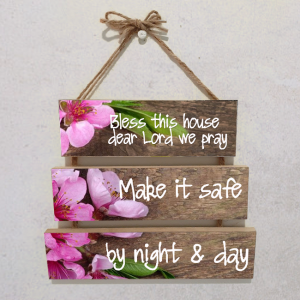 Wall plaque multiple-Bless this house dear Lord