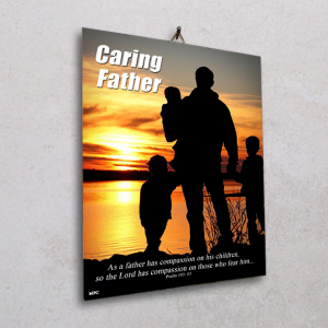 Wall plaque-Caring Father
