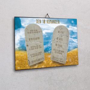 Wall plaque-Den 10 kommanderi