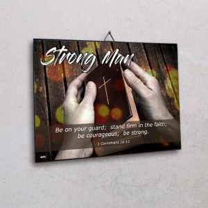 Wall plaque-Strong Man