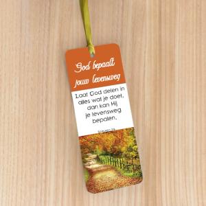 Bookmark Large – God bepaalt jouw levensweg