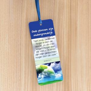 Bookmark Large – Gods plannen zijn ondoorgrondelijk