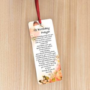 Bookmark Large – A birthday prayer
