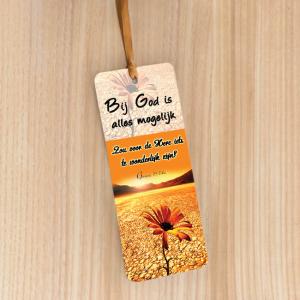 Bookmark Large – Bij God is alles mogelijk