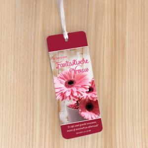 Bookmark Large – Je bent een fantastische vrouw