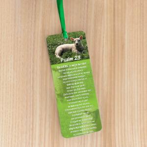 Bookmark Large – Psalm 23 – De Here is mijn Herder