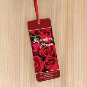 Bookmark Large – U bent een bijzondere vrouw