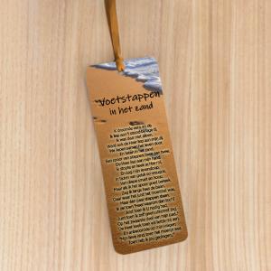 Bookmark Large – voetstappen