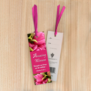 Bookmark Small – Amazing woman 02