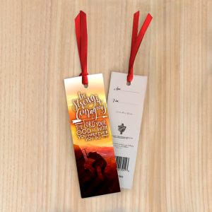 Bookmark Small – Be strong and courageous