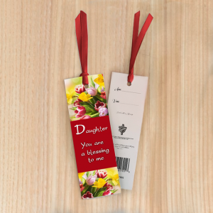 Bookmark Small – Daughter, you are a blessing to me