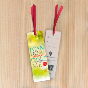 Bookmark Small – I can do all things through Christ