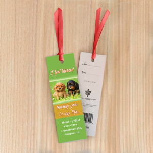 Bookmark Small – I feel blessed having you in my life