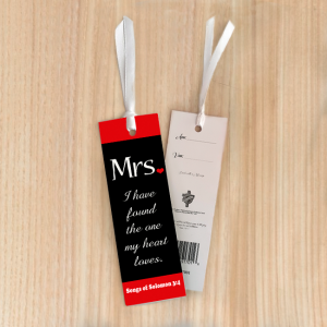 Bookmark Small – Mrs (I have found the one)