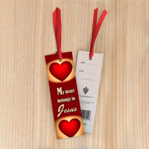 Bookmark Small – My heart belongs to Jesus