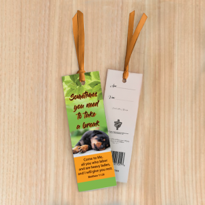 Bookmark Small – Sometimes you need to take a break