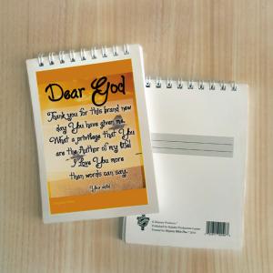 Mini Note Block – Dear God