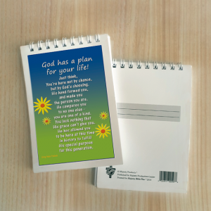 Mini Note Block – God has a plan for your life