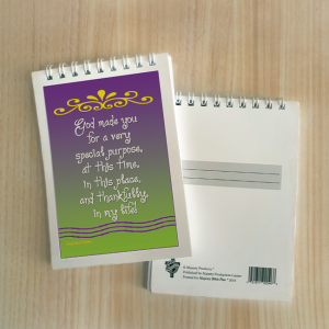 Mini Note Block – God made you for a special purpose