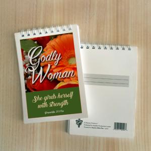 Mini Note Block – Godly woman