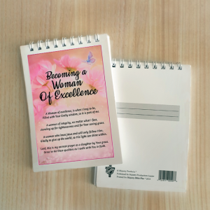 Mini Note Block – Becoming a woman of excellence