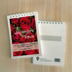 Mini Note Block – Bijzondere vrouw