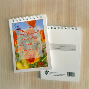 Mini Note Block – Delight yourself in the Lord