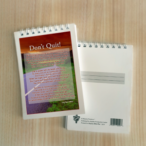 Mini Note Block – Don't quit