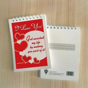 Mini Note Block – I love you