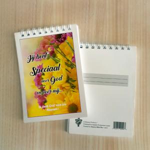Mini Note Block – Je bent speciaal voor God