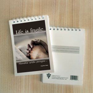 Mini Note Block – Life is fragile