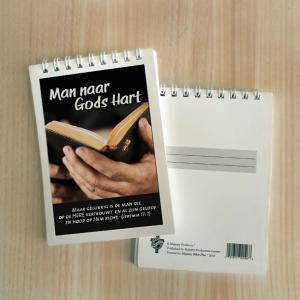 Mini Note Block – Man naar Gods hart