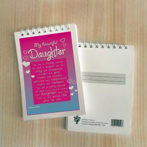 Mini Note Block – My beautiful daughter