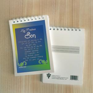 Mini Note Block – My precious son