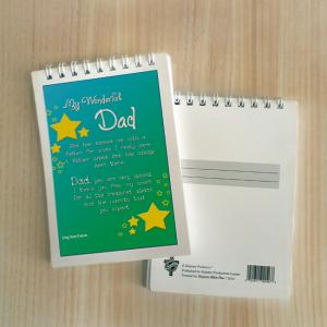 Mini Note Block – Wonderful dad