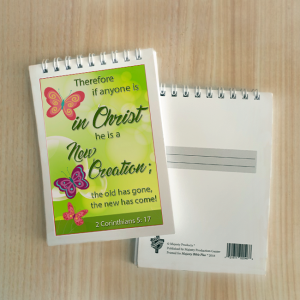 Mini Note Block – New creation in Christ