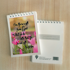 Mini Note Block – Our life is a gift from God