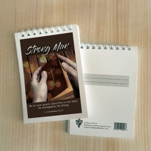 Mini Note Block – Strong man