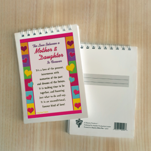 Mini Note Block – The love betweem mother and daughter