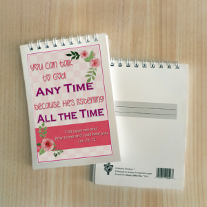 Mini Note Block – You can talk to God anytime