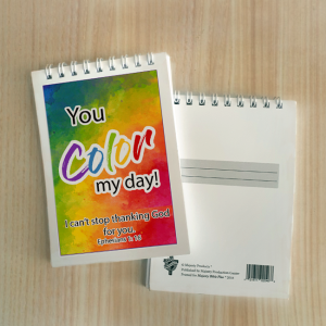 Mini Note Block – You color my day