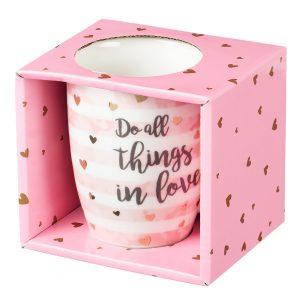 Mug-Do All Things in Love