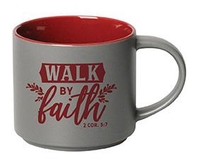 Mug- Stacking Walk in Faith